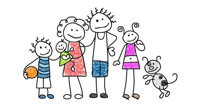 Happy Family Day Clipart
